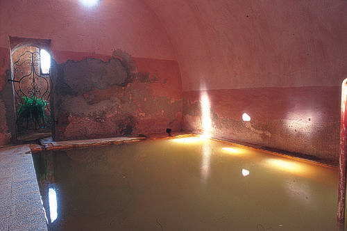 Lesvos has a large number of Healing Hot Baths and many people visit them from all over Greece and around the world...